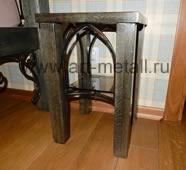 Прикроватный столик банкетка из дуба