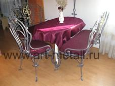Набор кованной мебели.