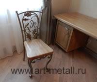 Кованый стул с вензелем