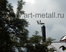wrought iron Chimney cap