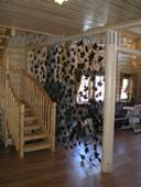 Кованая декоративная решетка.