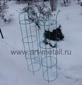Шпалера обелиск для растений.