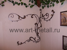 forged wall hanger